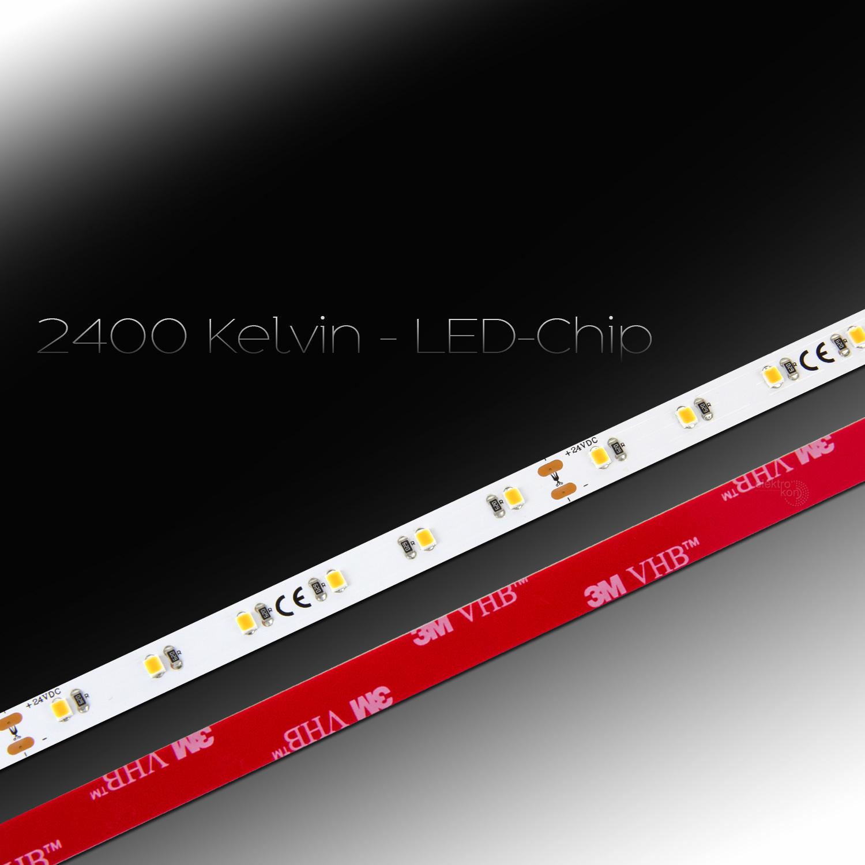 0 5 20m 2400kelvin ra92 1260lm m 14w led strip band warmwei 2835 60led m 24v ebay. Black Bedroom Furniture Sets. Home Design Ideas