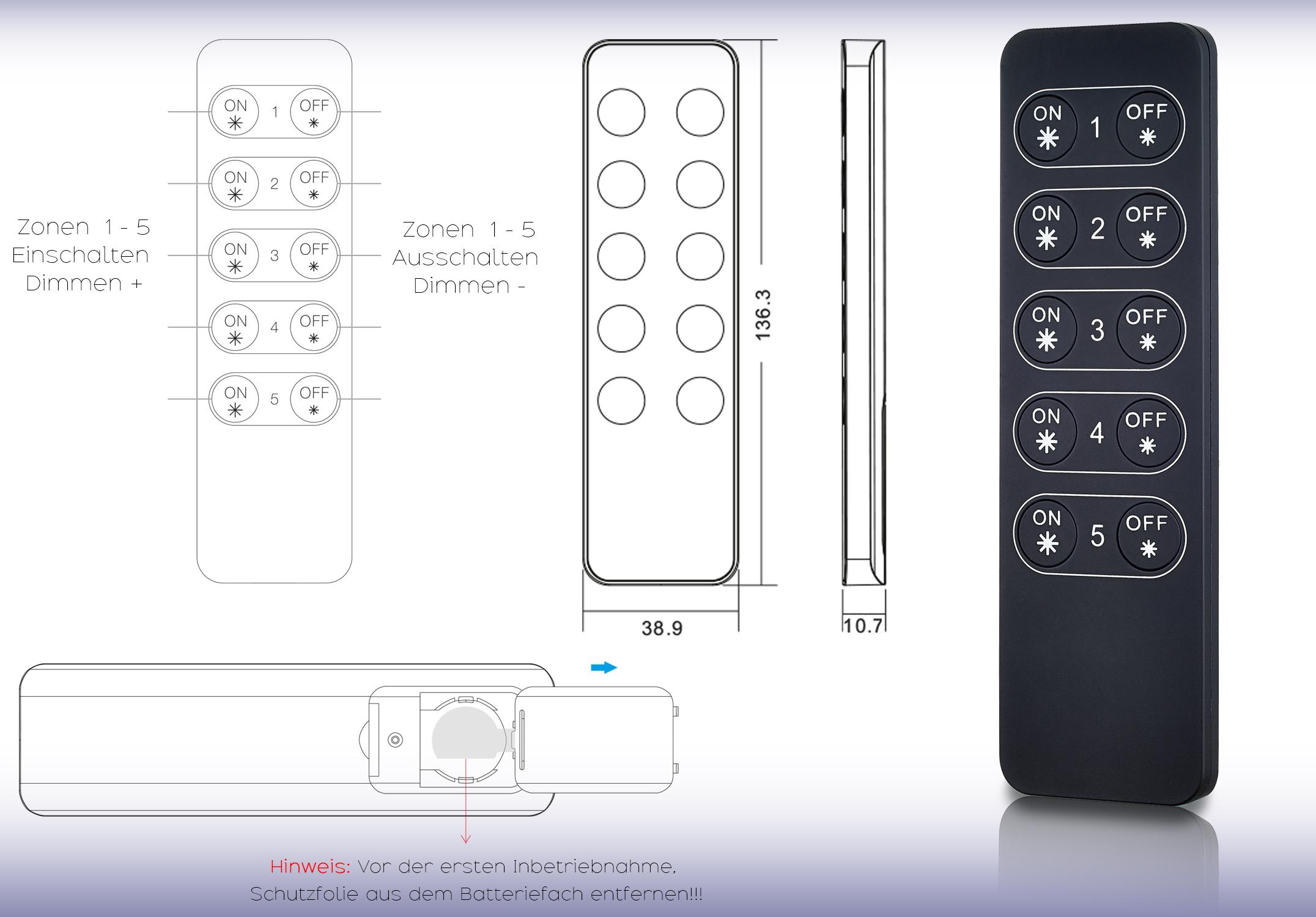 ek-552801-0 Erstaunlich Dimmer Schalter Mit Fernbedienung Dekorationen