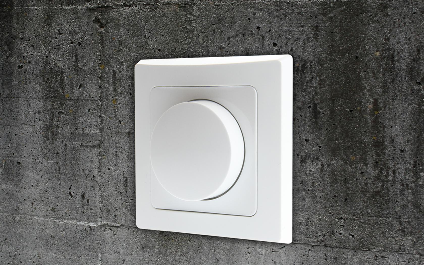 LED Dreh Dimmer Schalter für elektronische Trafos 230V 20-300W ...