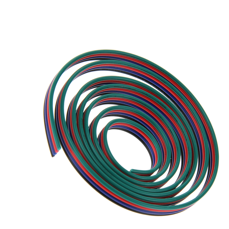 ✅ 4x 0,32mm² 22 AWG RGB Anschlußkabel 4 Adrig, Verlängerungskabel ...